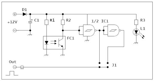 Schema sensore IR
