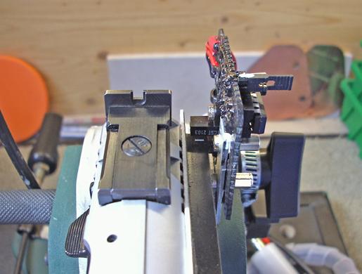 Vista anteriore sensore IR