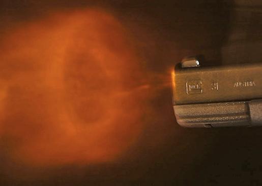 La velocità dei gas di deflagrazione