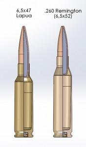 6,5x47 vs .260