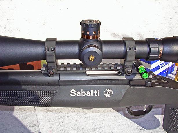 Sabatti rover 870 inox ss, кал30-06spr черн пластик ствол 560 мм