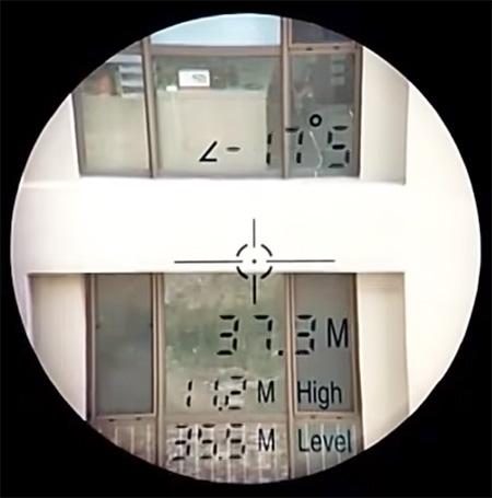 Display telemetro