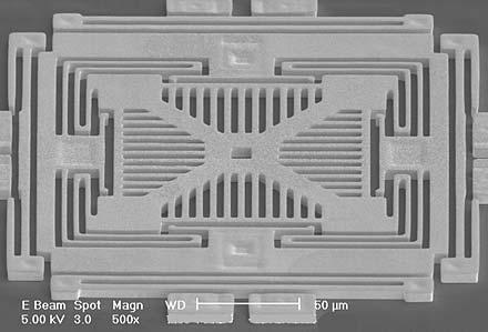 struttura accelerometro