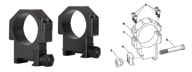 Anelli TPS mod. TSR 30mm