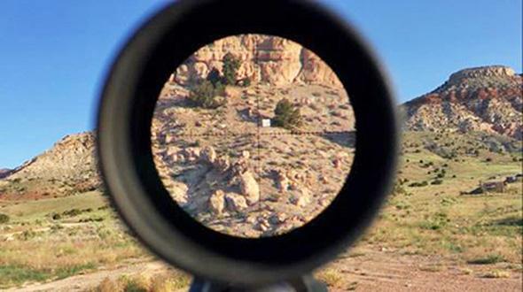 Fotocamera da bersaglio: visione da remoto per il tiro long range